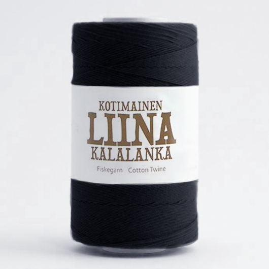 Liina Cotton Twine black [1280]