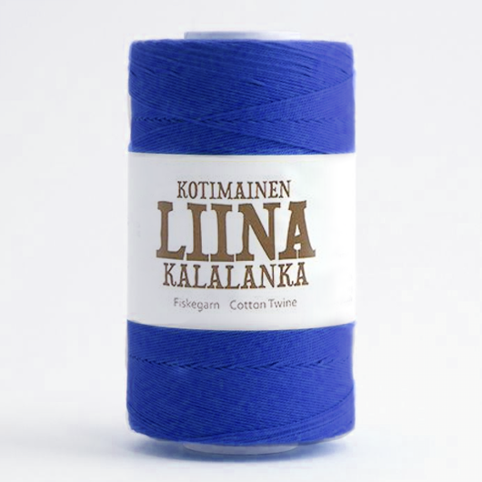 Liina Cotton Twine cobalt [1874]