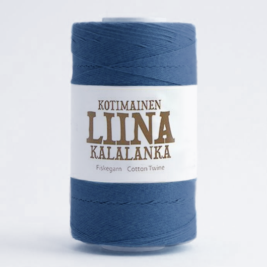 Liina Cotton Twine indigo [1275]