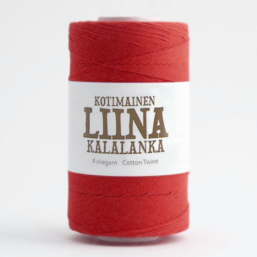 Liina Cotton Twine red [1860]