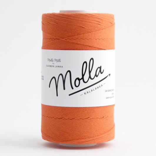 Liina Cotton Twine rusty red [1243]