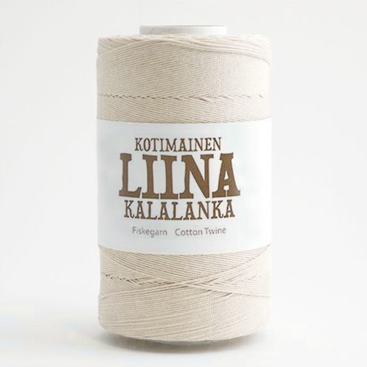 Liina Cotton Twine undyed [1201]