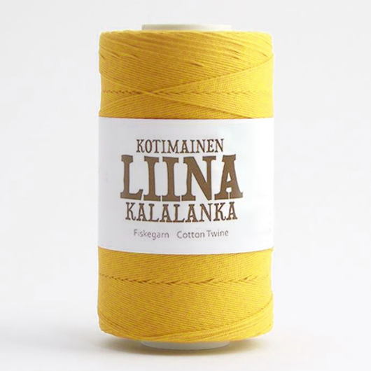 Liina Cotton Twine yellow [1225]