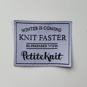 Label, Knit faster
