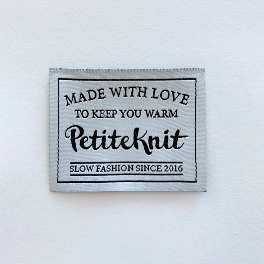 Label, Made with love to keep you warm
