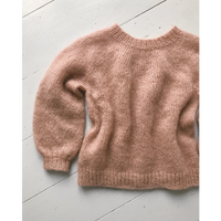Opskrift på Novice Sweater junior - mohair edition