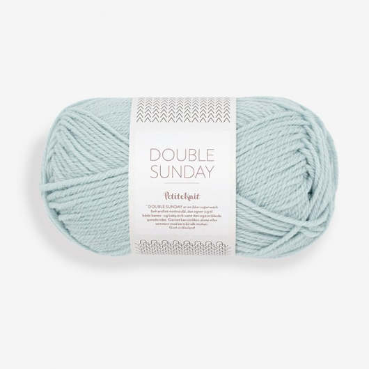 Double Sunday PetiteKnit pale blue [5930]