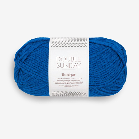 Double Sunday PetiteKnit electric blue [6046]