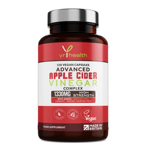 Advanced Apple Cider Vinegar Complex 1330mg - 120 Vegan Capsules