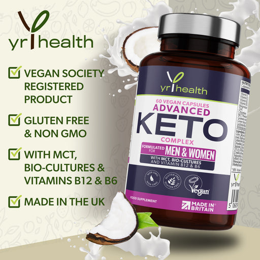 Advanced Keto Complex - Supporting your Diet - 60 Vegan Capsules