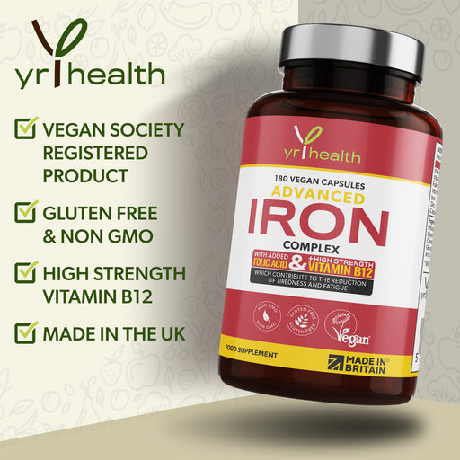 Advanced Iron Complex  - 180 Vegan Capsules