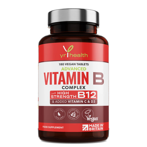 Vitamin B Complex - 180 Vegan Tablets