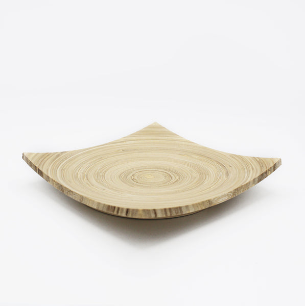 Bamboo tray tranquil plants