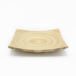 Bonsai Wooden Square Tray 24cm
