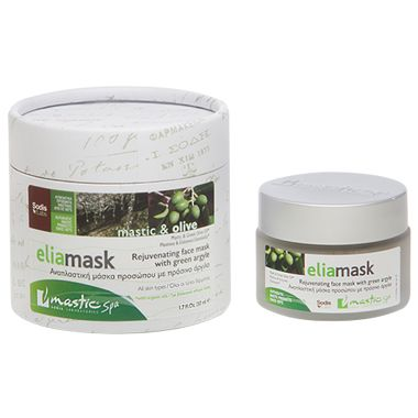 ELIAMASK REJUVENATION / Rejuvenating Face Mask with Green Argyle, Mastic & Greek Olive Oil