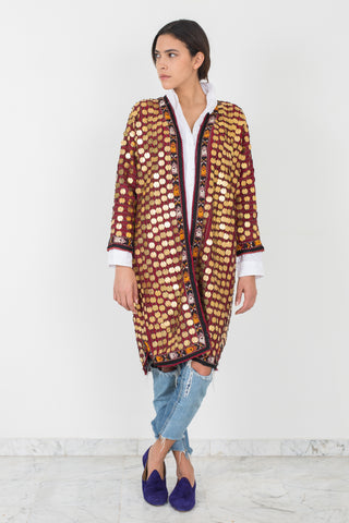 Emme - Hand Embroidered Coat