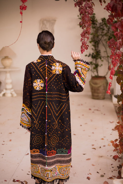 Jaipur - Wool Embroidered Coat