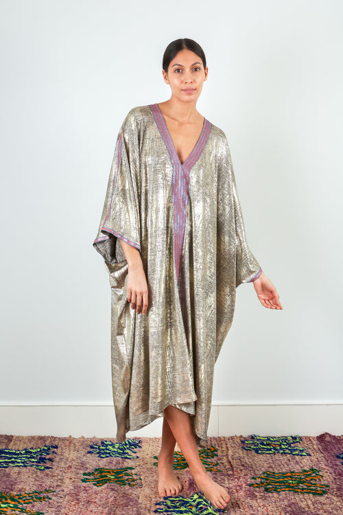 Eya - Cotton Metallic Kaftan