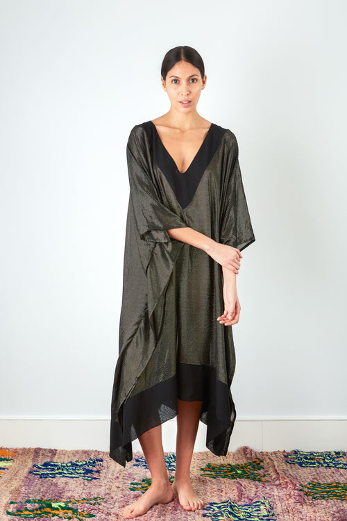 Luce - Black Gold Kaftan