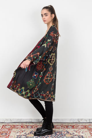 Amani J - Embroidered Flower Jacket