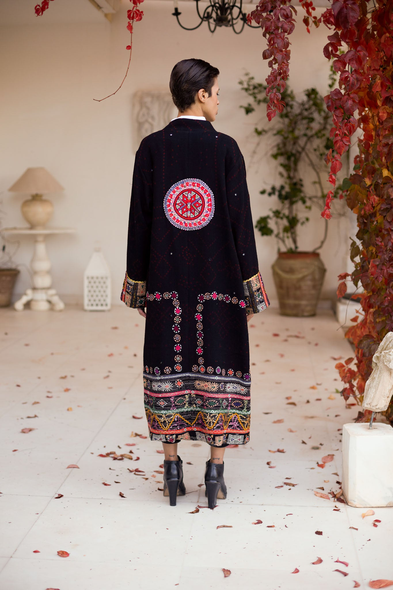 Zora - Wool Embroidered Coat