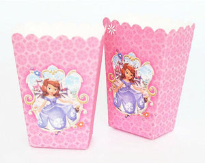Lot 24 x Boîtes Pop Corn Princesse Sofia