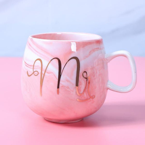 Tasse de café Mr (couleur rose)