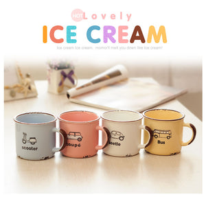 Mugs Ice Cream couleur pastel
