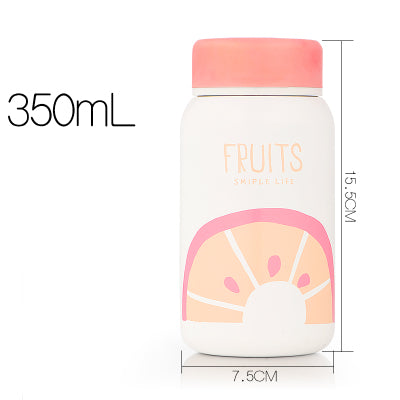 Bouteille isotherme pour femme - style Orange (fruit)