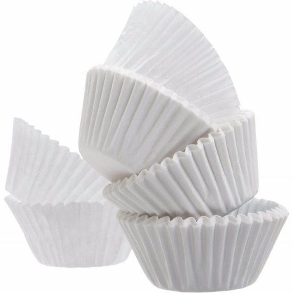 Lot x 100 Caissettes blanches pour Cupcake et Muffin