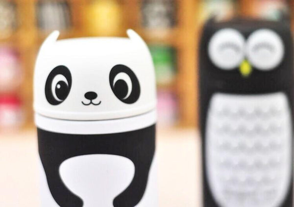 Mug Thermos Enfant 220ml - Panda et Hibou Kawaii