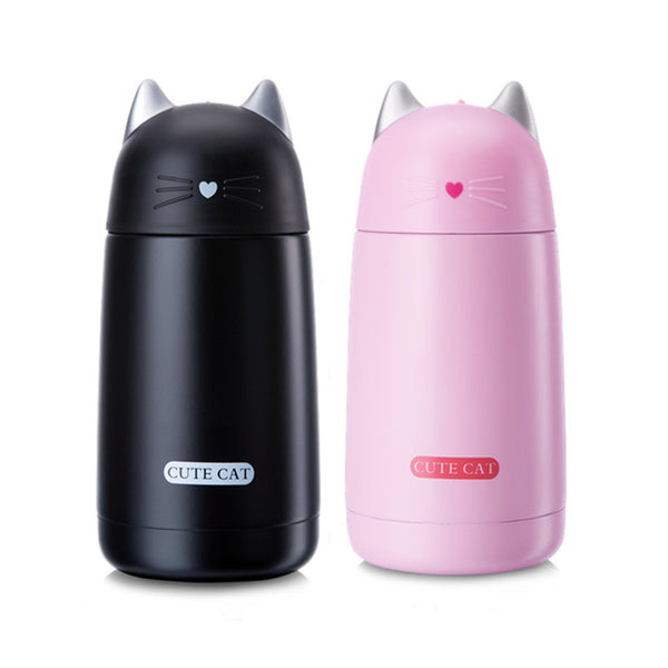 Bouteille isotherme enfant forme chat