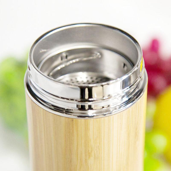 Thermos sous vide avec infuseur inox