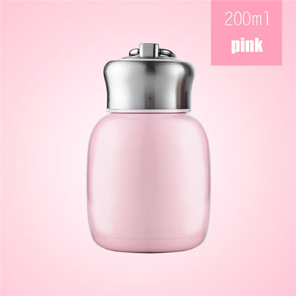 Tasse isotherme couleur rose 200ml