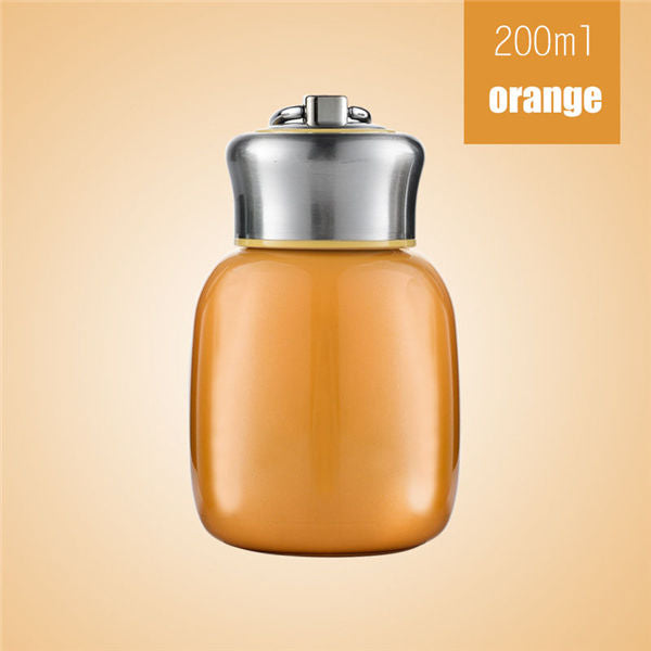 Tasse isotherme couleur orange 200ml