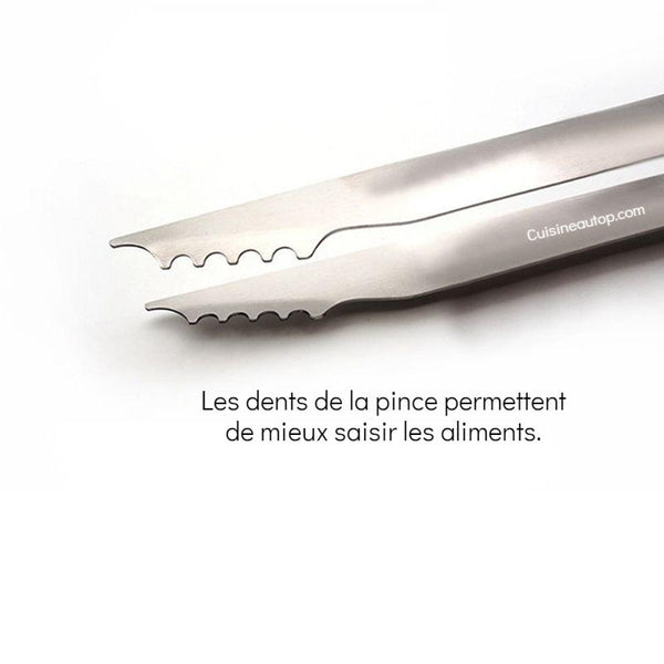 Dents pince barbecue