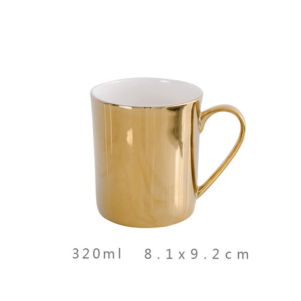 Mug couleur or 320 ml