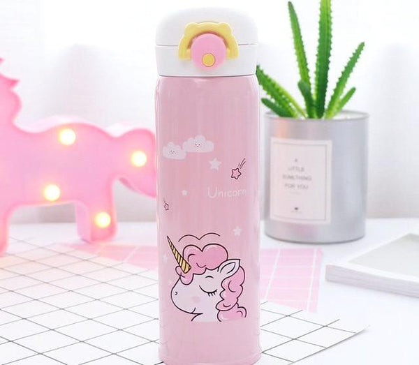 Thermos licorne couleur rose