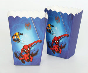 Boîte pop corn Spiderman