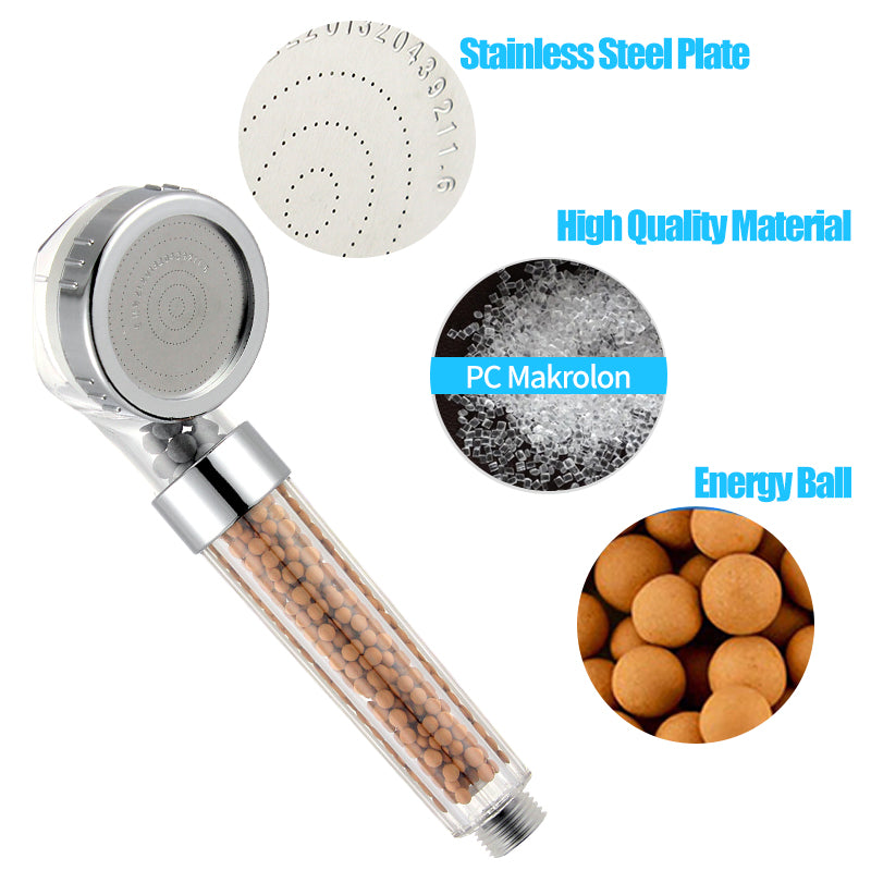 High Pressure Ionic Filtration Shower Head