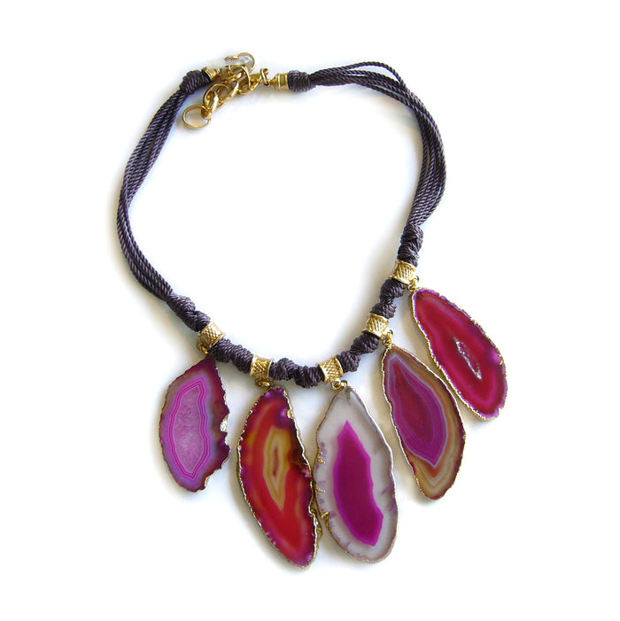Tribu Necklace Pink