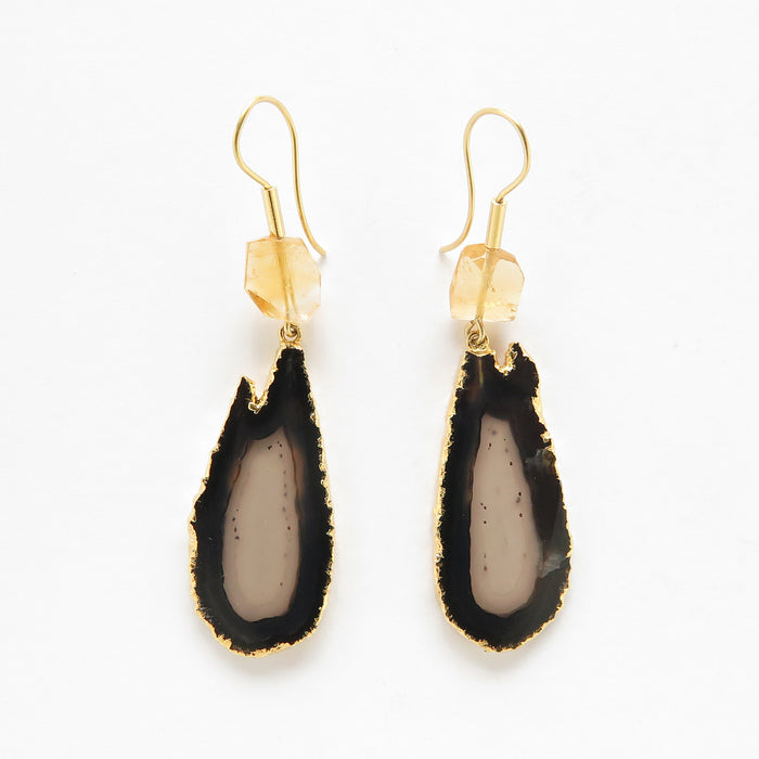 Lava drops earrings