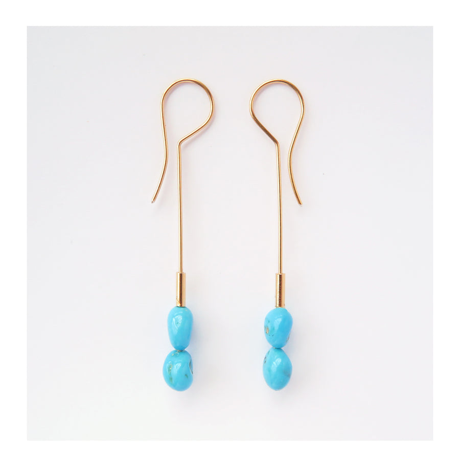 Babilonia Turquoise Earrings