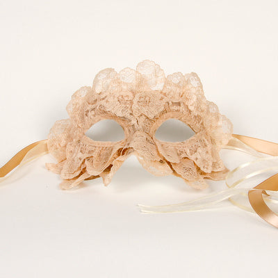 nude lace lady gaga mask original custom made