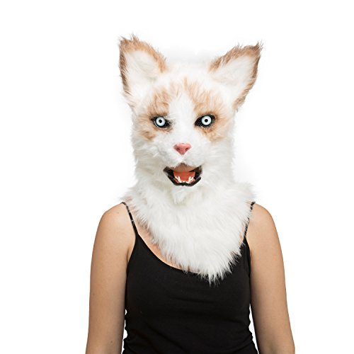 Viving Costumes Viving Costumes204677 Cat Mask with Movable Jaw (One Size)