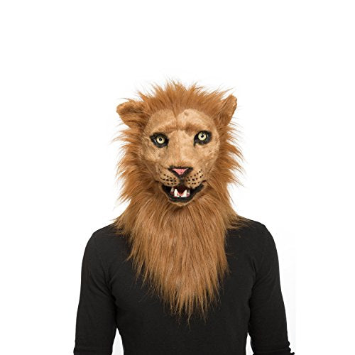 Viving Costumes Viving Costumes204679 Lion Mask with Movable Jaw (One Size)