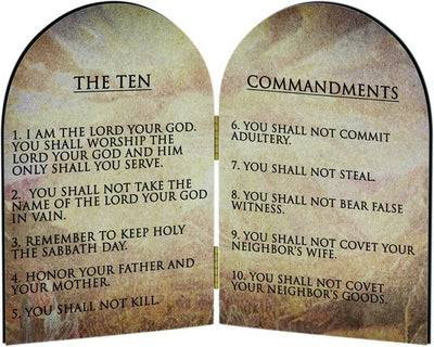 Why The Nine Satanic Commandments Are Better Than The Ten Jewish Commandments.