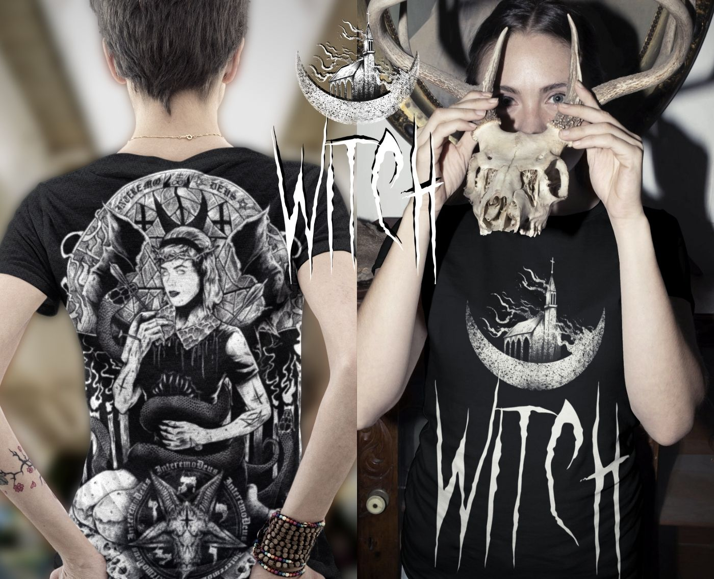 Sabrina the witch satanic with tshirt