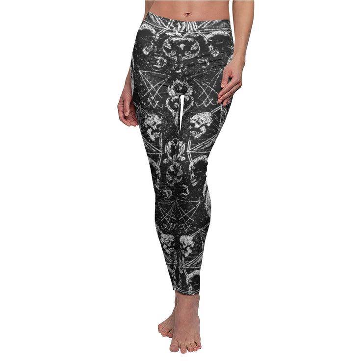 Distressed Occult Leggings