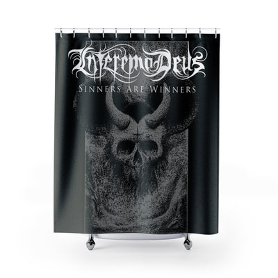 Devil skull Shower Curtain